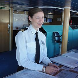 deck officer on deck